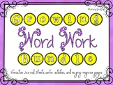 Phonics Word Work Bundle