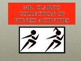 Physical Education Collection of Fitness Activities