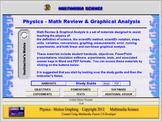 Physics Math Review & Graphical Analysis - Click & Teach -