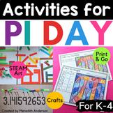 Pi Day Fun! Circle Themed Math and Art Activities; Pi Day