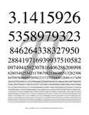 Pi Poster or Handout