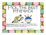 Pick the Best Inference - Lesson
