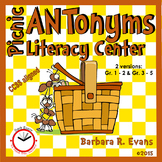 Picnic ANTonyms Literacy Center