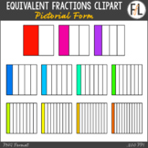 Equivalent Fractions {Clipart Collection}