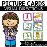 Picture Direction Icons {bright polka dots & chevron print}