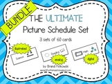 Picture Schedule - Bundle (3 Sets-- Analog, Digital, and I