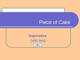Piece of Cake: Imperative Form - pps