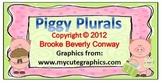 Piggy Plural Noun Activity
