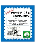 Pioneer Vocabulary