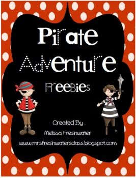 Pirate Adventure Freebie