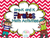 Pirate Math Activities Pre-K and K