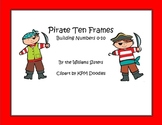 Pirate Ten Frames Working with Numbers 0 to 10