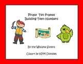 Pirate Ten Frames Working with Teen Numbers