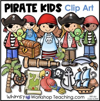Pirates Clip Art - Whimsy Workshop Teaching
