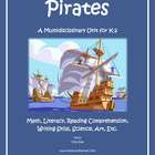 """Pirates!"" Math and Literacy Unit - Aligned with Common Co"