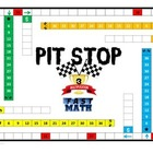 Pit Stop Multiplication Game! A fun way for students to pr