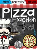 Pizza Fraction Fun Craftivity