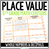 Place Value 5.NBT.1 5.NBT.2 5.NBT.3