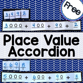 Place Value Accordion