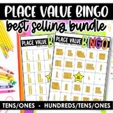 Place Value Bingo *Base 10 Blocks*