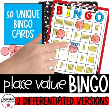Place Value Bingo: Base 10 Blocks [Back to School Review]