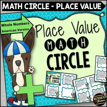 Place Value Math Circle Whole Numbers