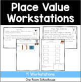 Place Value Math Workstations