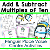Place Value Penguins Adding and Subtracting Tens