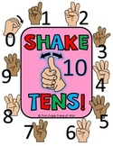 "Place Value ""Shake Tens"" Gestures Poster"