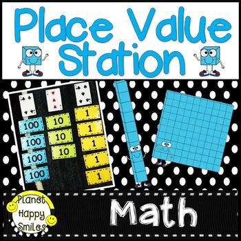 Place Value Station ~ FREEBIE!