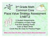 Place Value Strategy - 3.NBT.2 Common Core Assessments (Nu