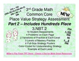 Place Value Strategy - 3.NBT.2 Common Core Assessments Par