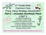 Place Value Strategy - 3.NBT.2 Common Core Assessments Par