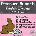 Easter FREE Place Value Tens and Ones- Treasure Reports