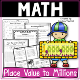 Place Value to the Millions for 4th Grade