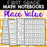 Math Journals: Place Value Printables for 1-2 (Part 1)