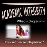 Plagiarism Discussion Handout