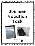 Plan a Summer Vacation (Common Core, STEAM & Real Life Mat