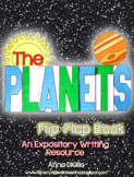 Planets Flip-Flap Book - An Expository Writing Resource