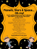 Planets, Stars & Space... Oh My!