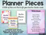 Planner Pieces