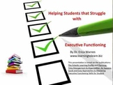 Planning, Time Management and Organization for Success: CD