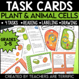 Plant and Animal Cells Task Cards