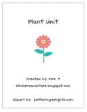 Plant and Seed Mini-Unit K-2