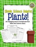Plants! (A Simple Science Debate) Common Core ELA Aligned