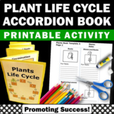 Plant Life Cycle Science Interactive Notebook Accordion Bo