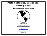 Plate Tectonics Volcanoes Earthquakes Board Game