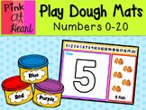 Play Dough Mats - 0-20