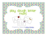 Playdough Letter Mats [Freebie]