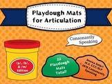 Playdough Mats for Articulation: P B & M Edition